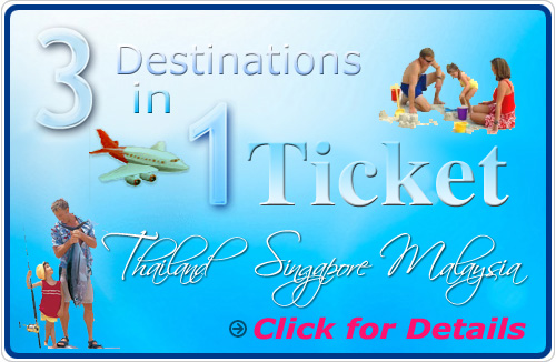 3 Destinations in 1 Ticket