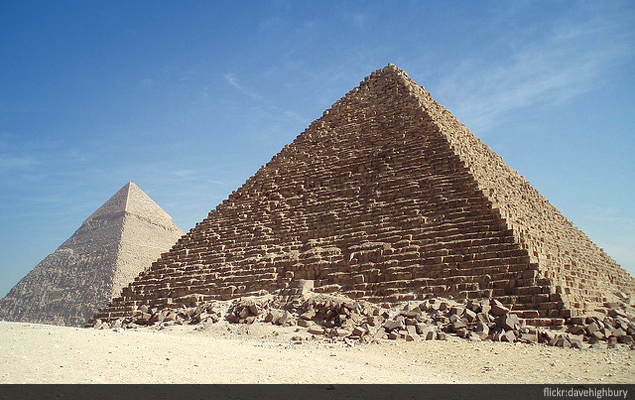 Popular Tourist Attractions Of Egypt - Map of egypt historical sites