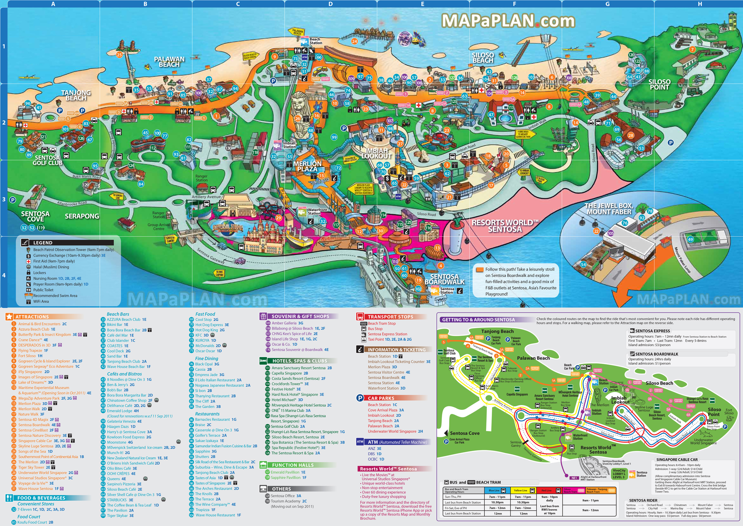 Singapore Tourist Map Top Tourist Attractions – Malaysia Tourist Attractions Map